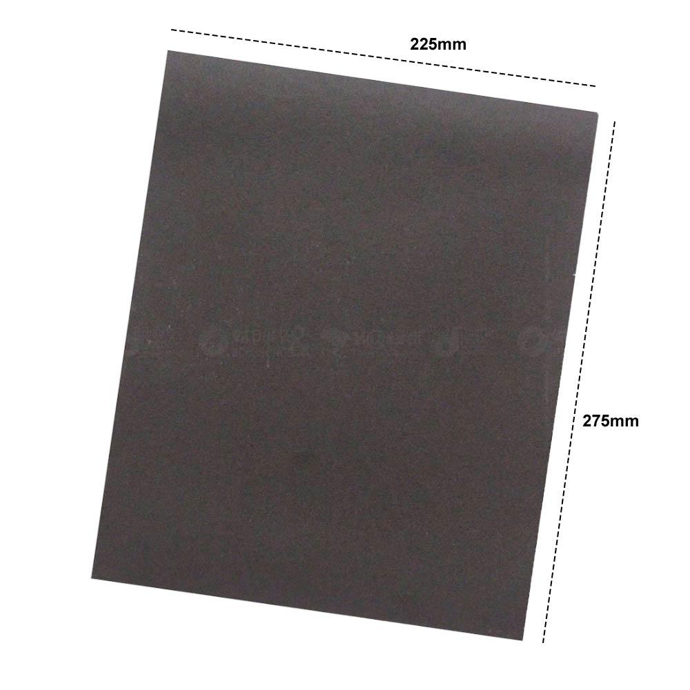 Lixa para Ferro Norton K246 225 x 275mm 25 folhas Grão 100