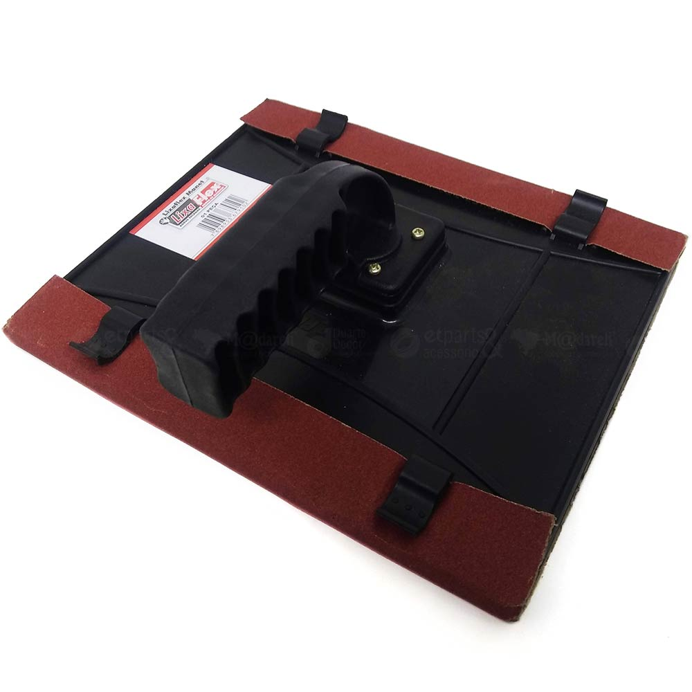 Lixadeira Manual Suporte 22x19cm com Lixa - Lixaflex