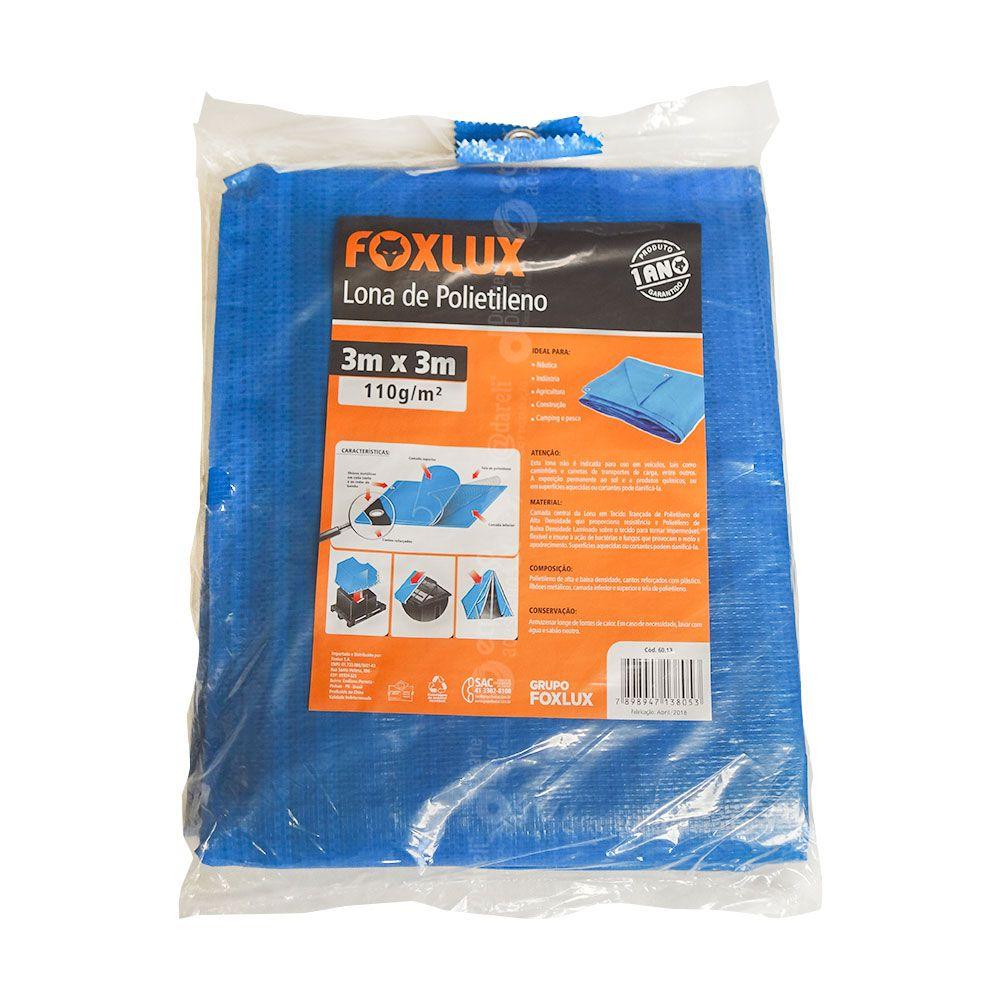 Lona de Polietileno Reforçada - FoxLux