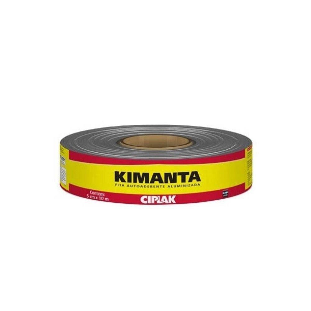 Manta Asfáltica Fita Aluminizada 5cm x 10m Kimanta - Ciplak