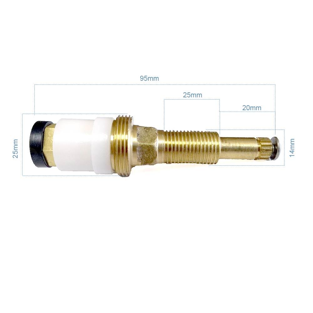 Mecanismo de Reparo para Registro Grande Deca Rosca 12 25mm