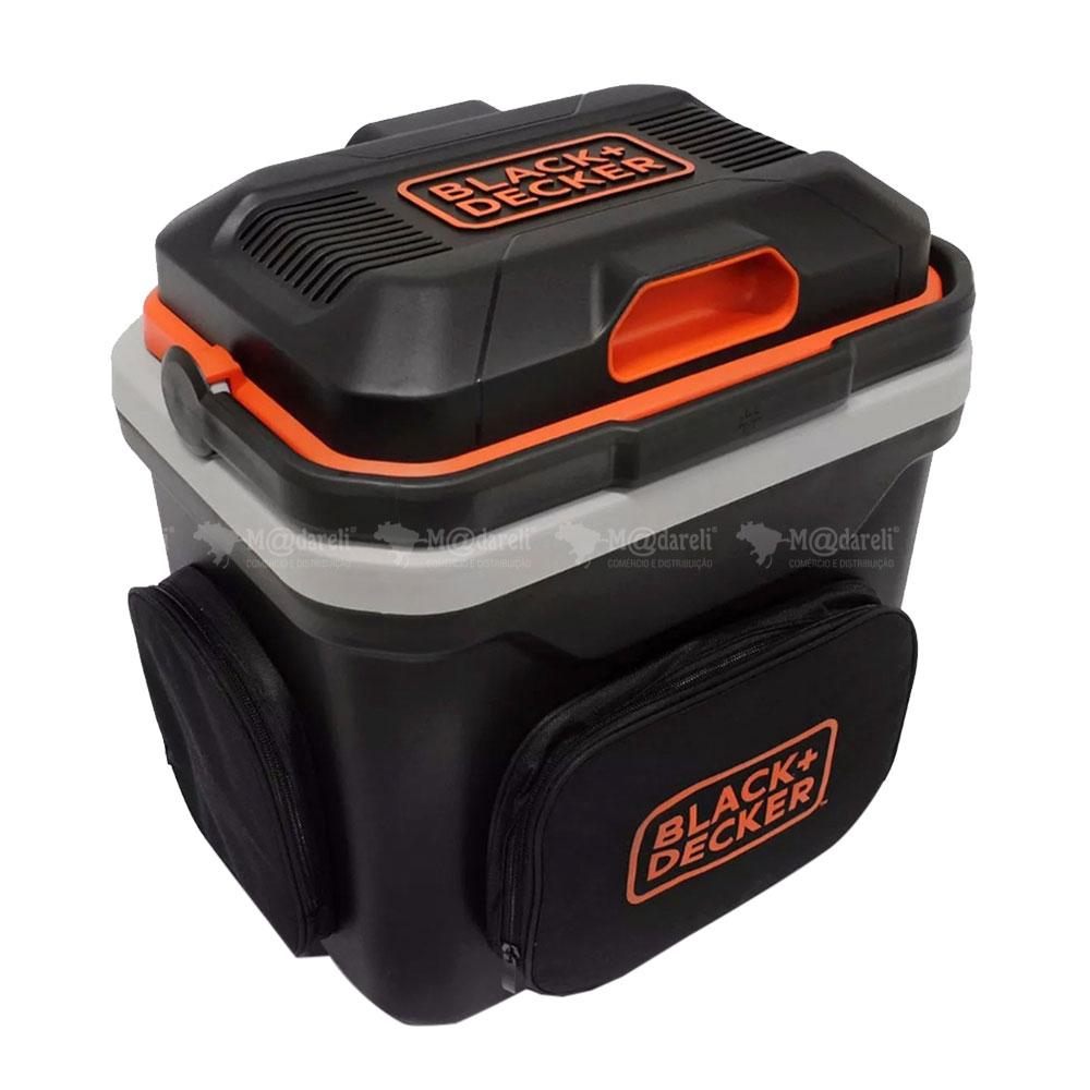 Mini Geladeira para Automóvel 24 Litros 12v Black & Decker BDC24L