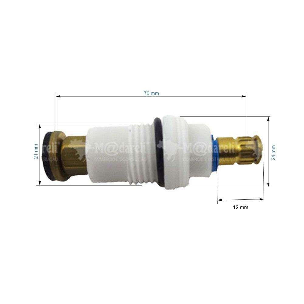 Mvi Mecanismo de Reparo Médio Nylon Rosca 3