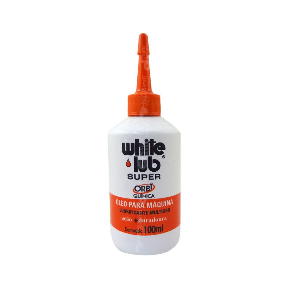 Óleo Lubrificante Multiuso White Lub 100ml Orbi Química