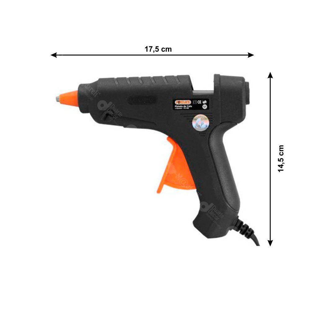 Pistola Aplicador para Cola Quente 40W Bivolt - Foxlux