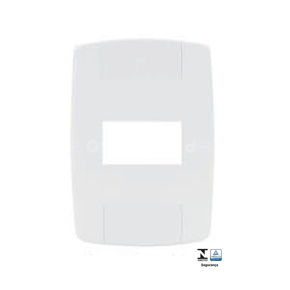Placa 4x2 para 1 Modulo Ilumi Lev Modular