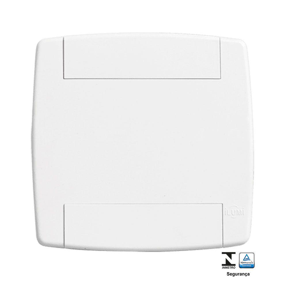 Placa Cega com suporte 4X4 - Ilumi Lev