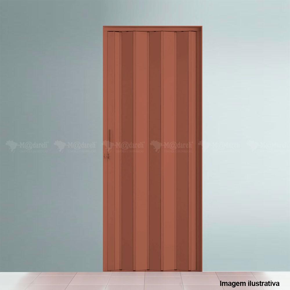 Porta Sanfonada PVC 210 x 72 cm - Plasflex