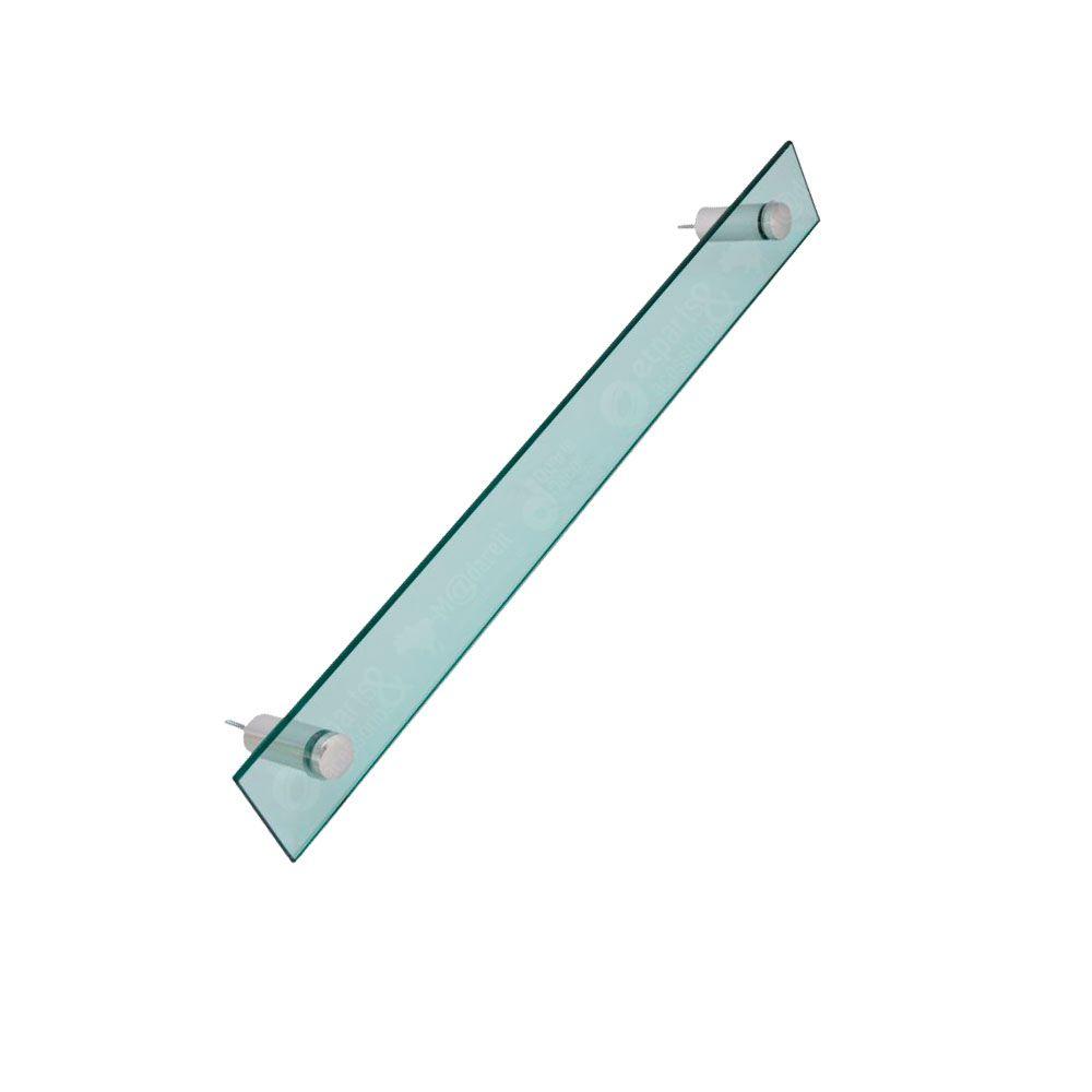 Porta Toalha de Banho em Vidro 10mm Vildrex