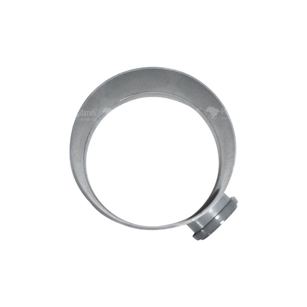Prolongador Redondo Cz Caixa Gordura/ Passagem 14x33cm Dn100