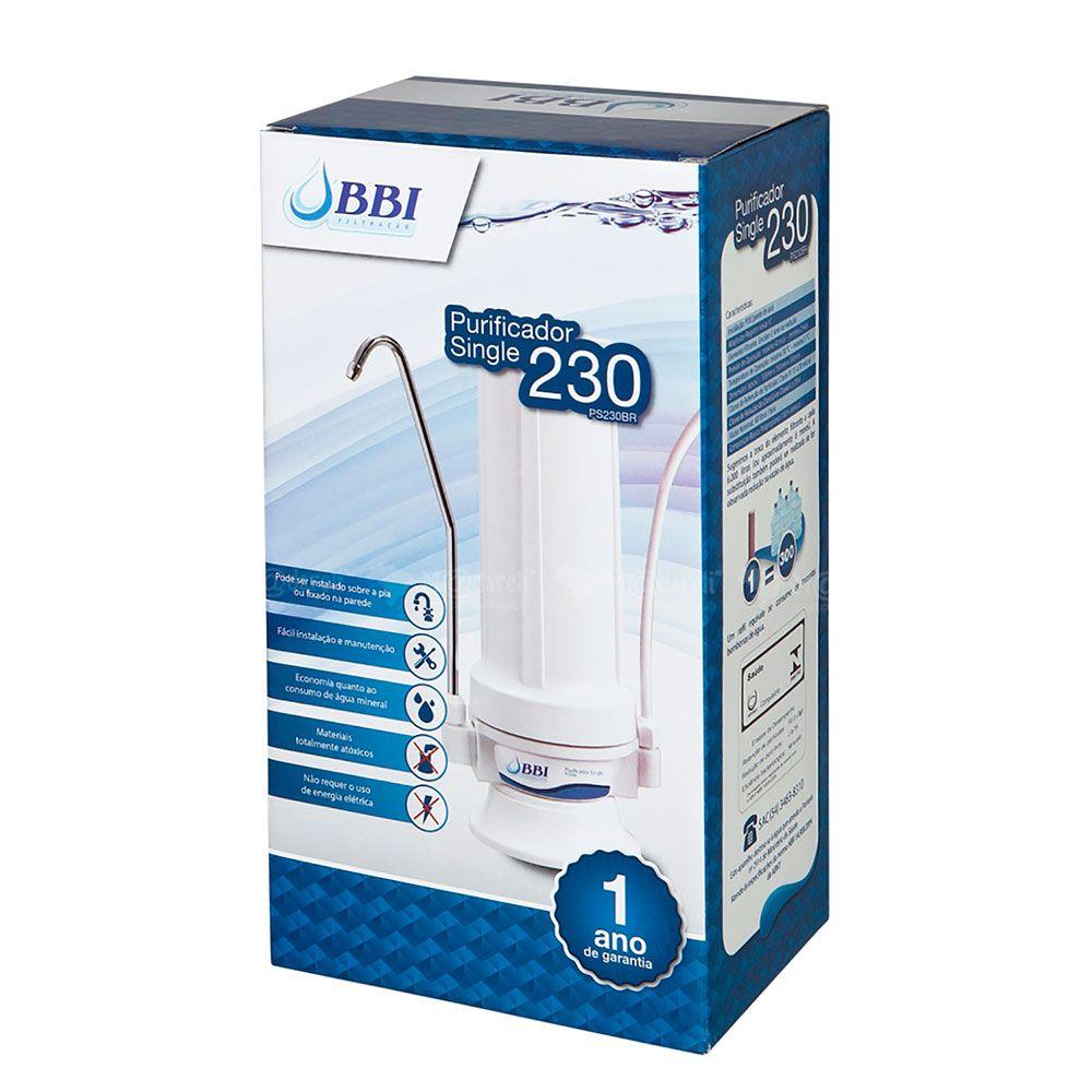 Purificador de Água BBI Single 230 com Refil