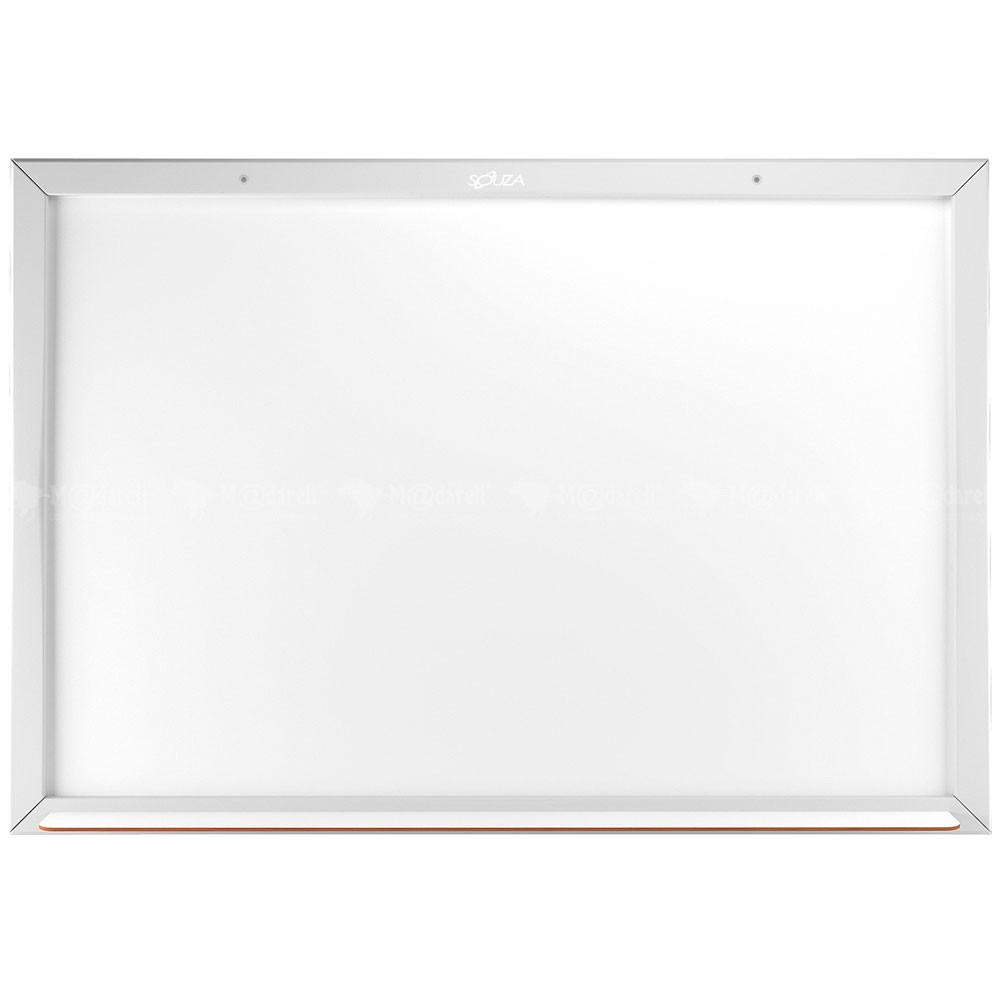 Quadro branco Moldura  90x60cm - Linha Color