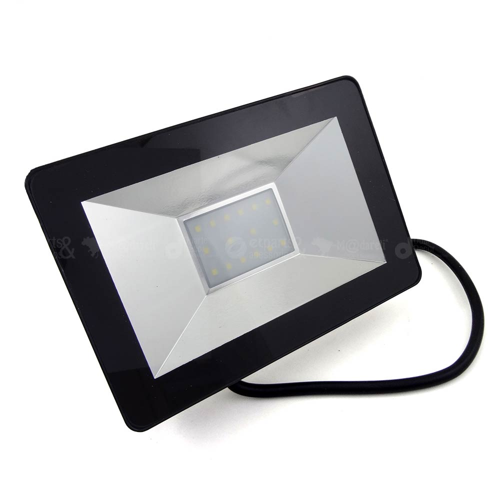 Refletor Led SMD Holofote 20w Bivolt 6500k Branco Frio