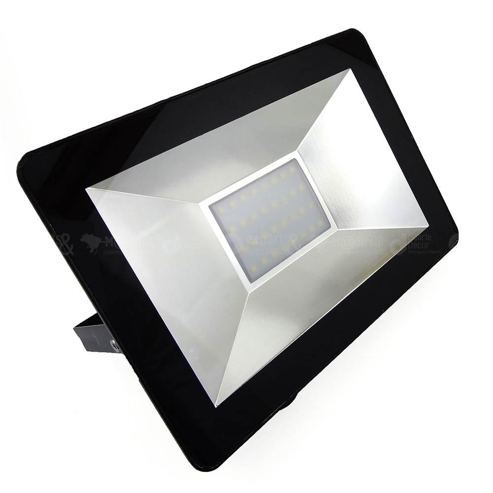 Refletor Led SMD Holofote 30w Bivolt 6500k Branco Frio