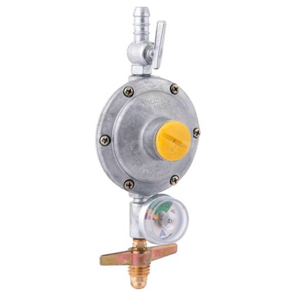 Registro Regulador de Gás 506/01 c/ Indicador de Pressão Aliança
