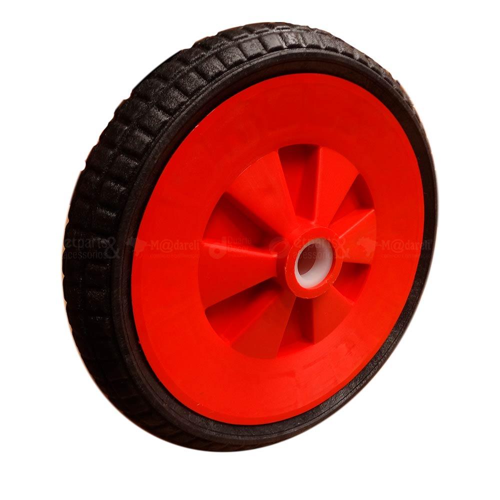 Roda para Carrinho de Mão Maciça 310x56mm - Roma