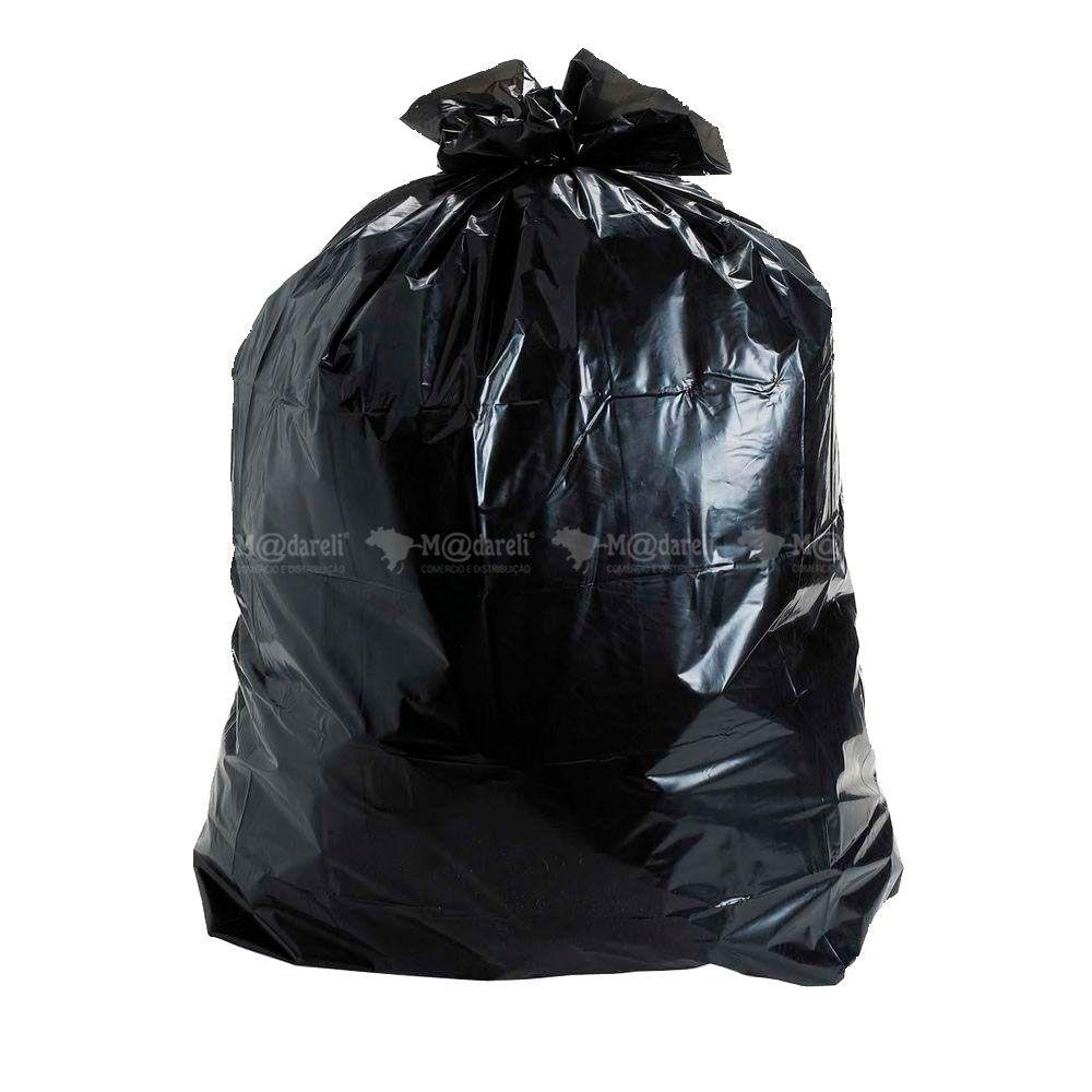 Saco de Lixo Super Resistente Preto 15 Litros - Lixoman