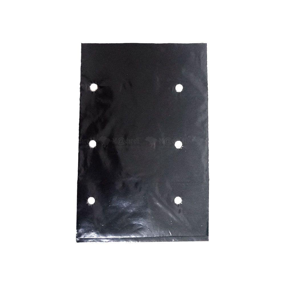 Saco para mudas 15 x 10 cm Preto - 1000 Unidades