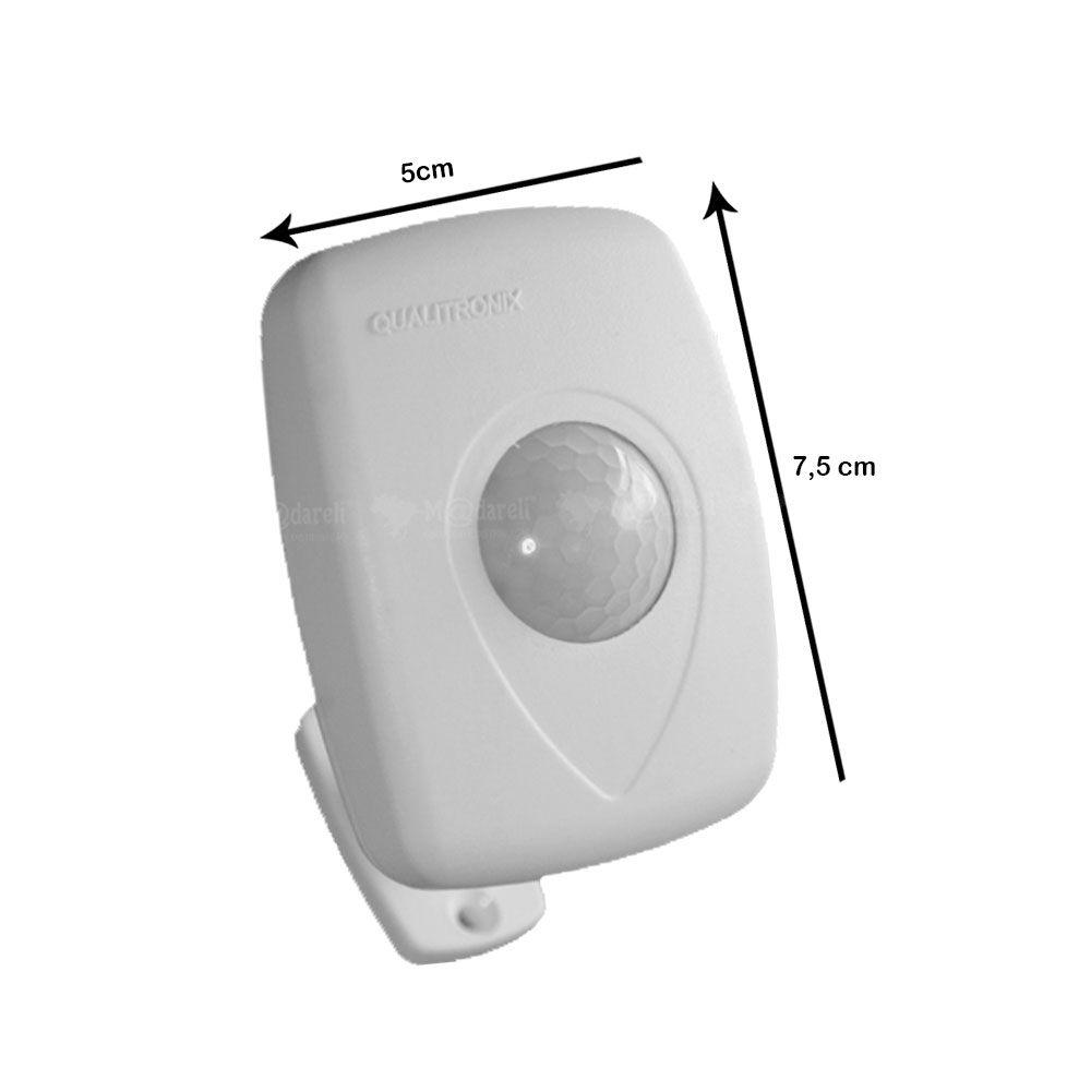 Sensor de Presença de Teto Sobrepor com Fotocélula 360°  Qa23M 3 Fios
