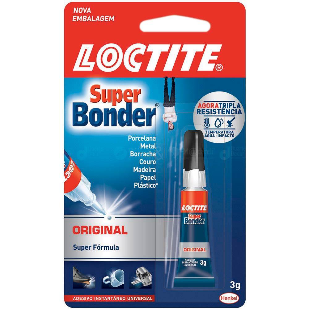 Super Bonder Cola Instantânea Multiuso 3g - Loctite