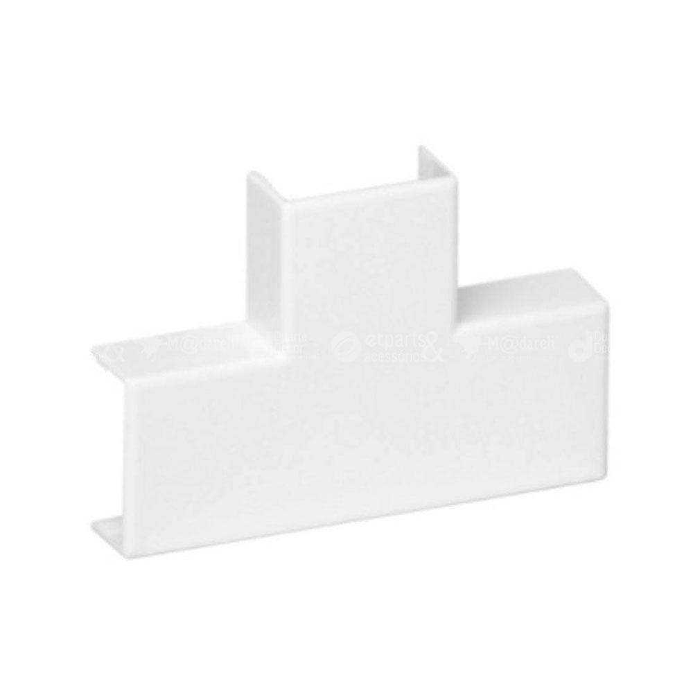 T para canaleta Branco Sistema X 10x20mm - Ilumi