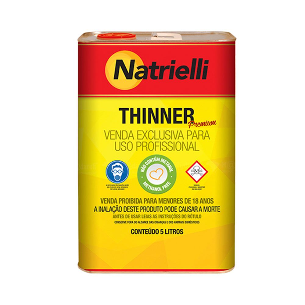 Thinner Premium Natrielli - 5 Litros