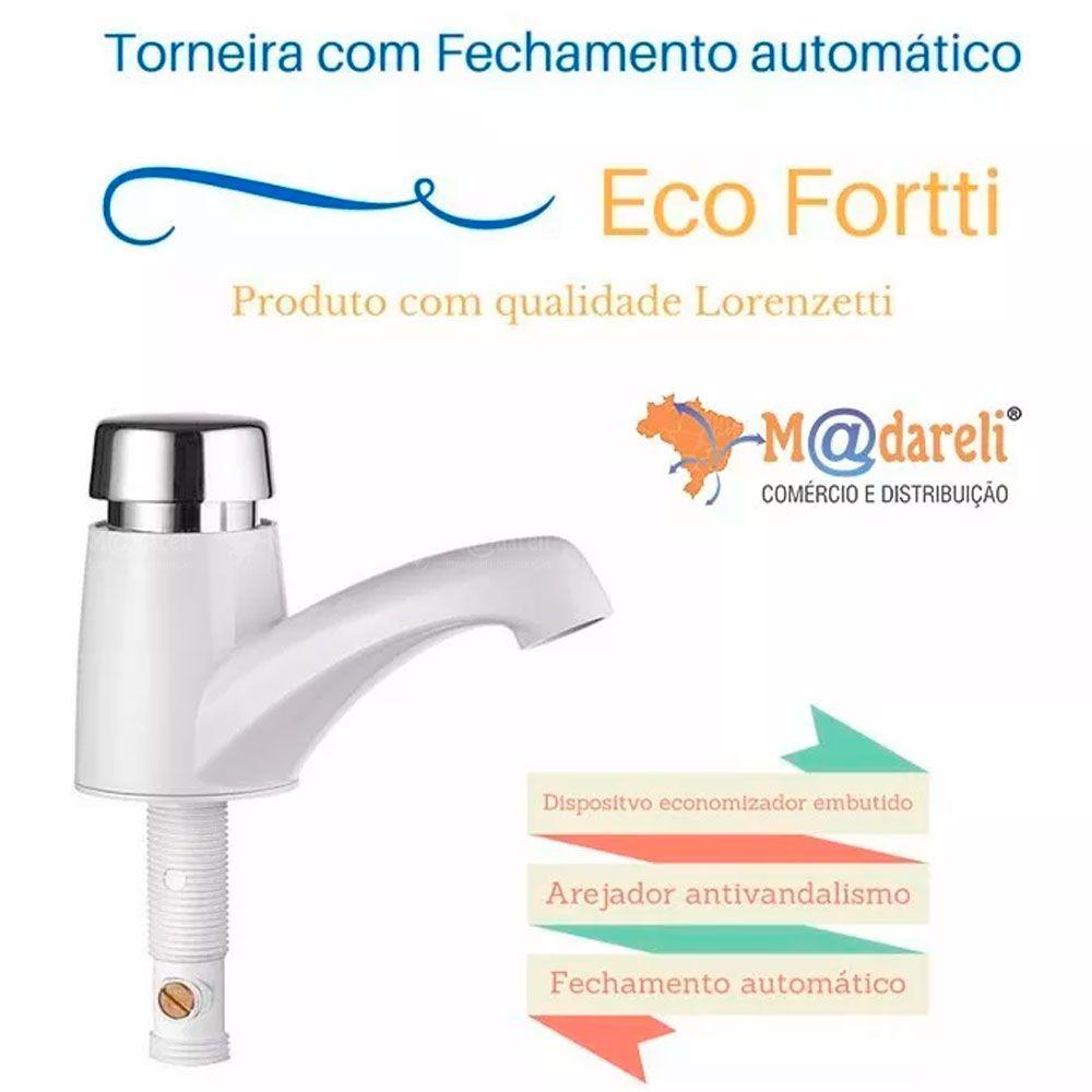 Torneira de Fechamento Automático Eco Fortti - Lorenzetti