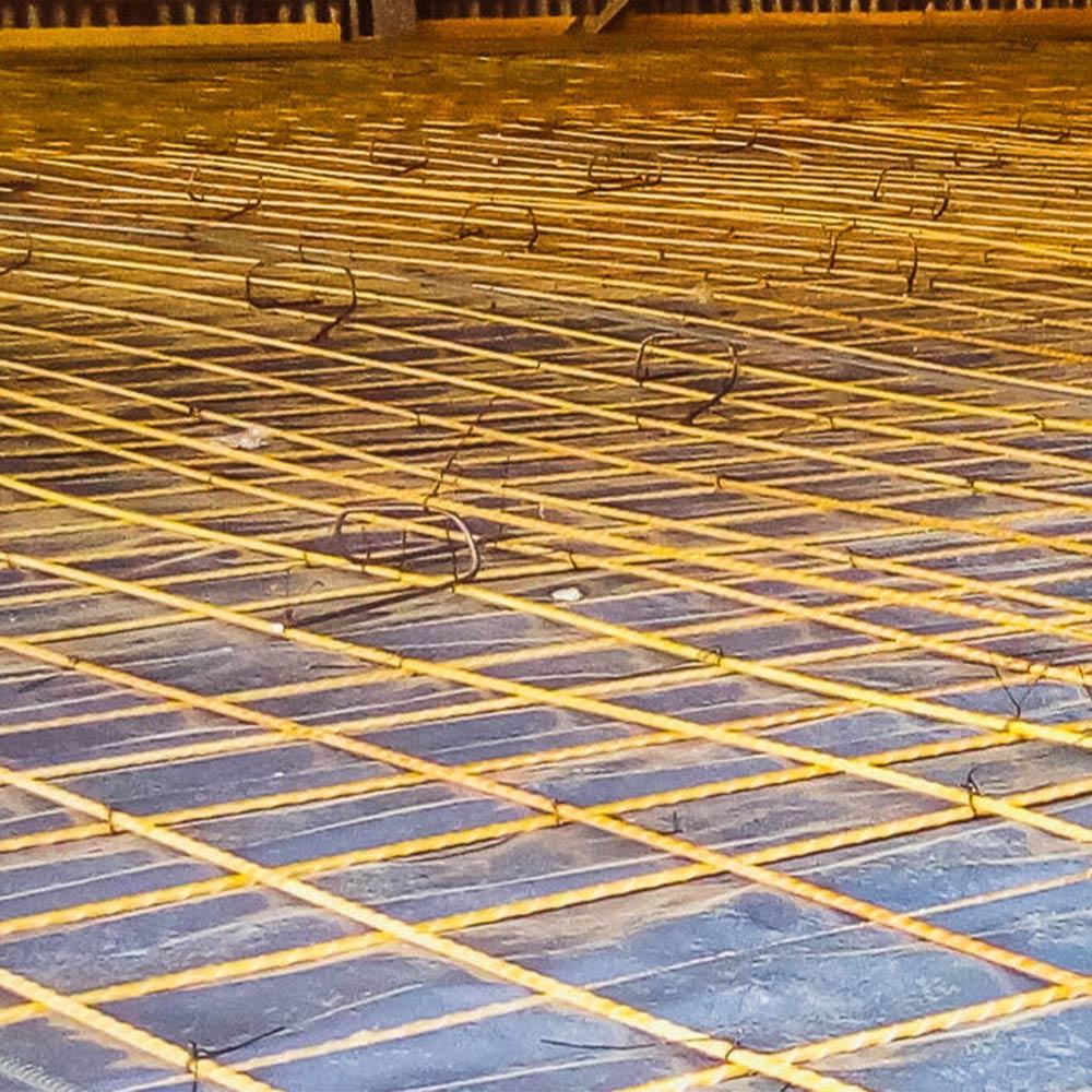 """Vergalhão de Fibra para Coluna Pilar 1/4"""" 6mm Barra 3 metros"""