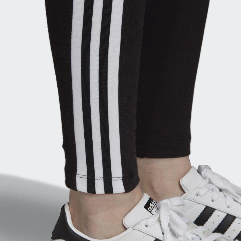 Calça Legging adidas Trefoil Preta
