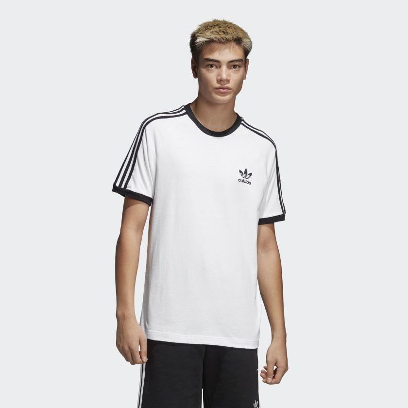Camiseta 3-Stripes White
