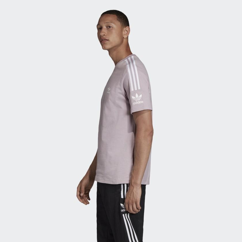 Camiseta adidas lilas basic