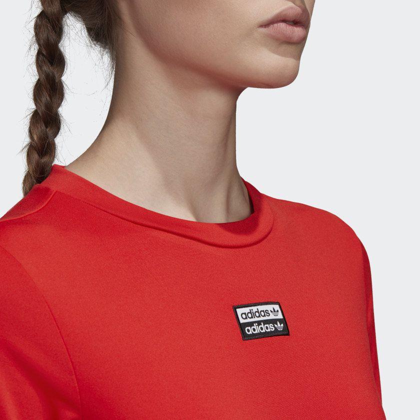 Camiseta Cropped adidas R.Y.V.