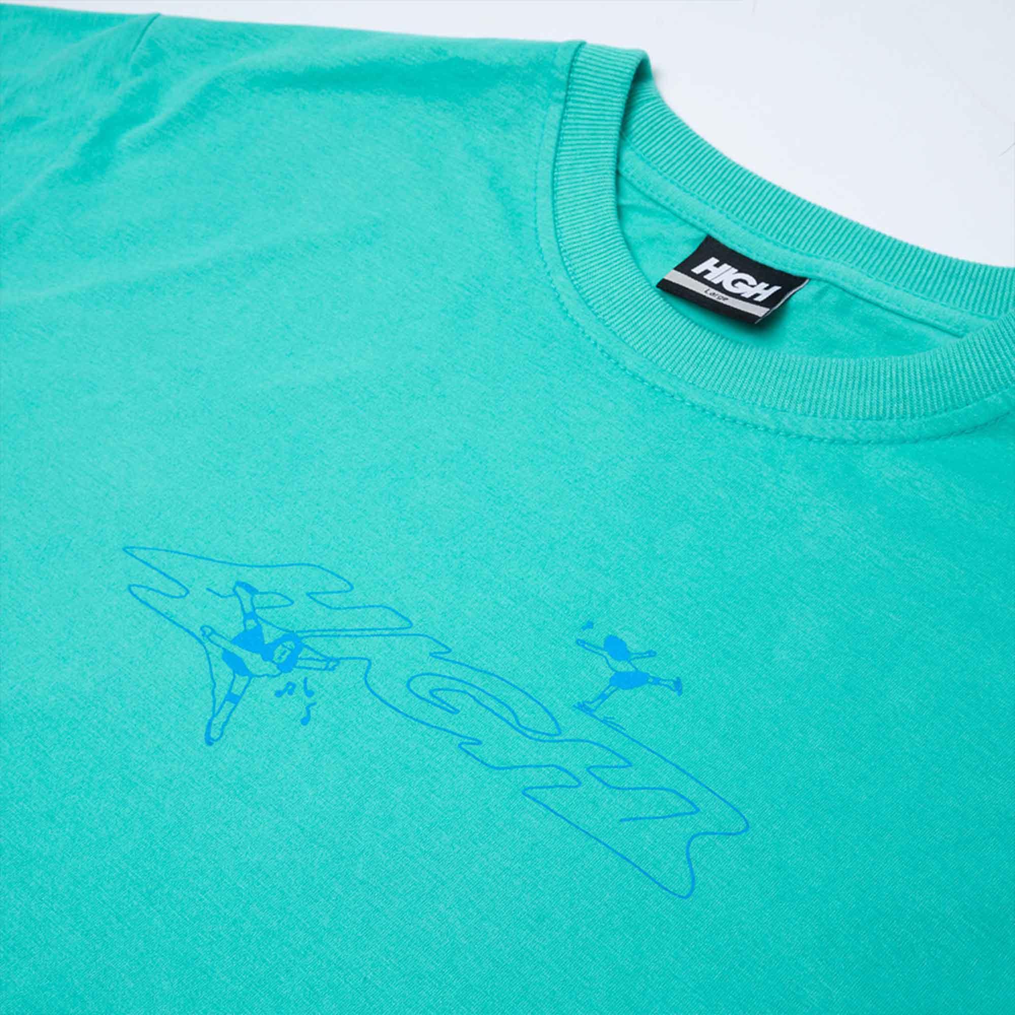 Camiseta HIGH ICE MOVES POOL GREEN