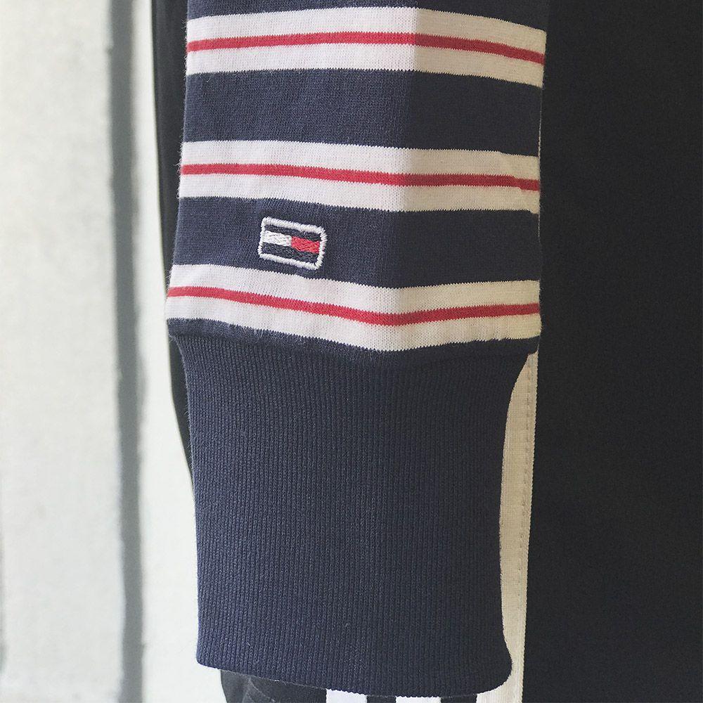 Camiseta tommy jeans longsleeve stripes
