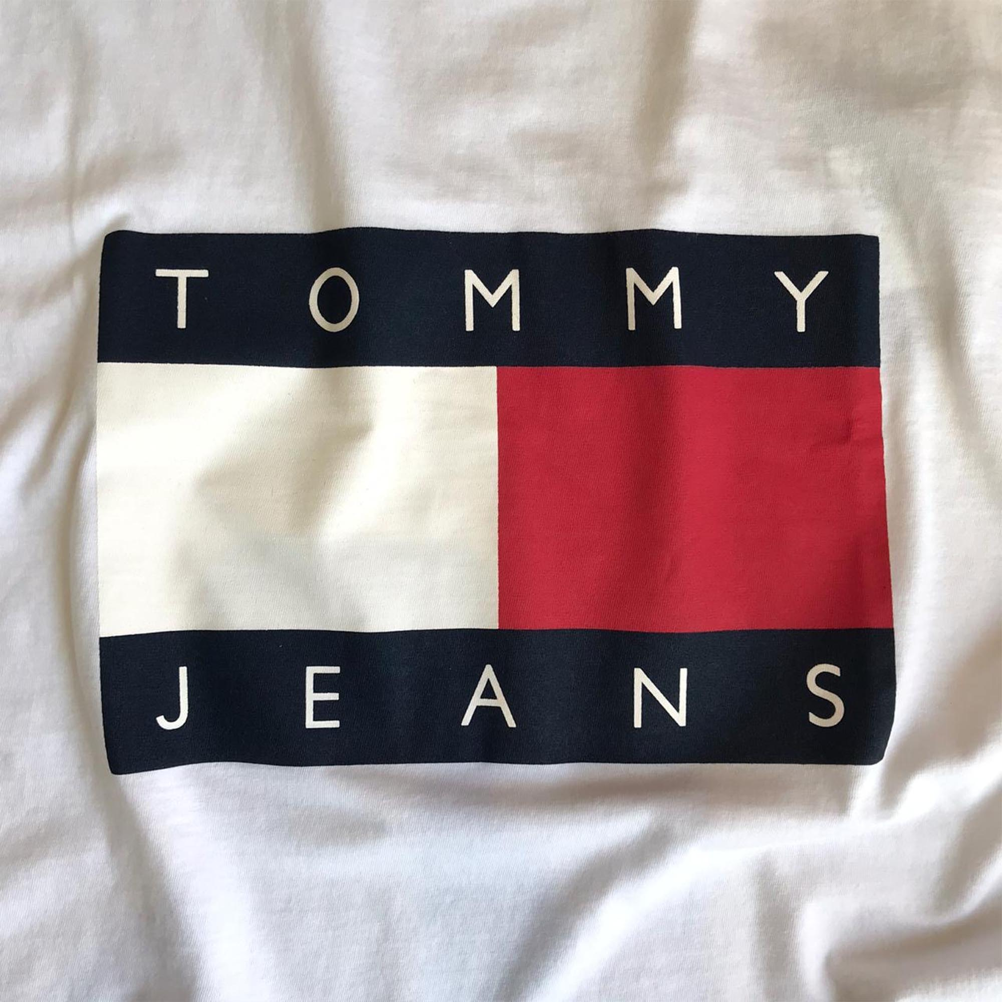 Camiseta Tommy Jeans White