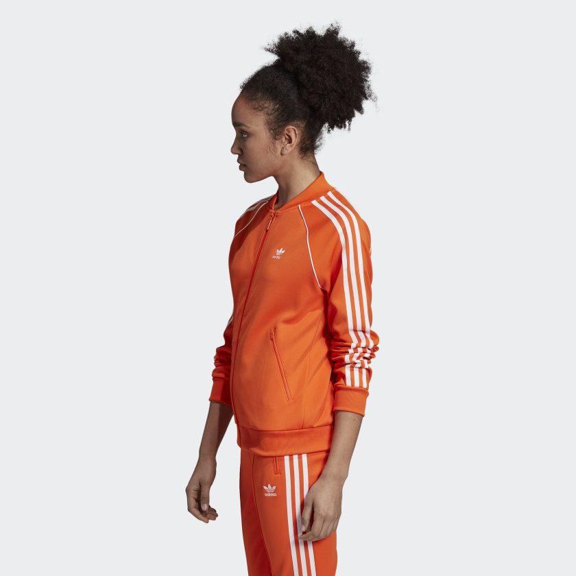 Jaqueta adidas SST Orange