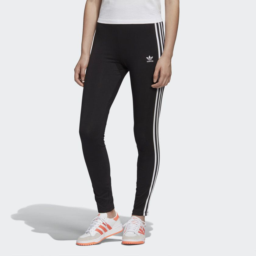 Legging adidas tight black 3 stripes