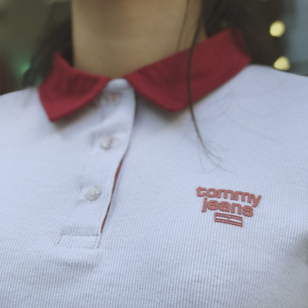 Polo Tommy Jeans vintage