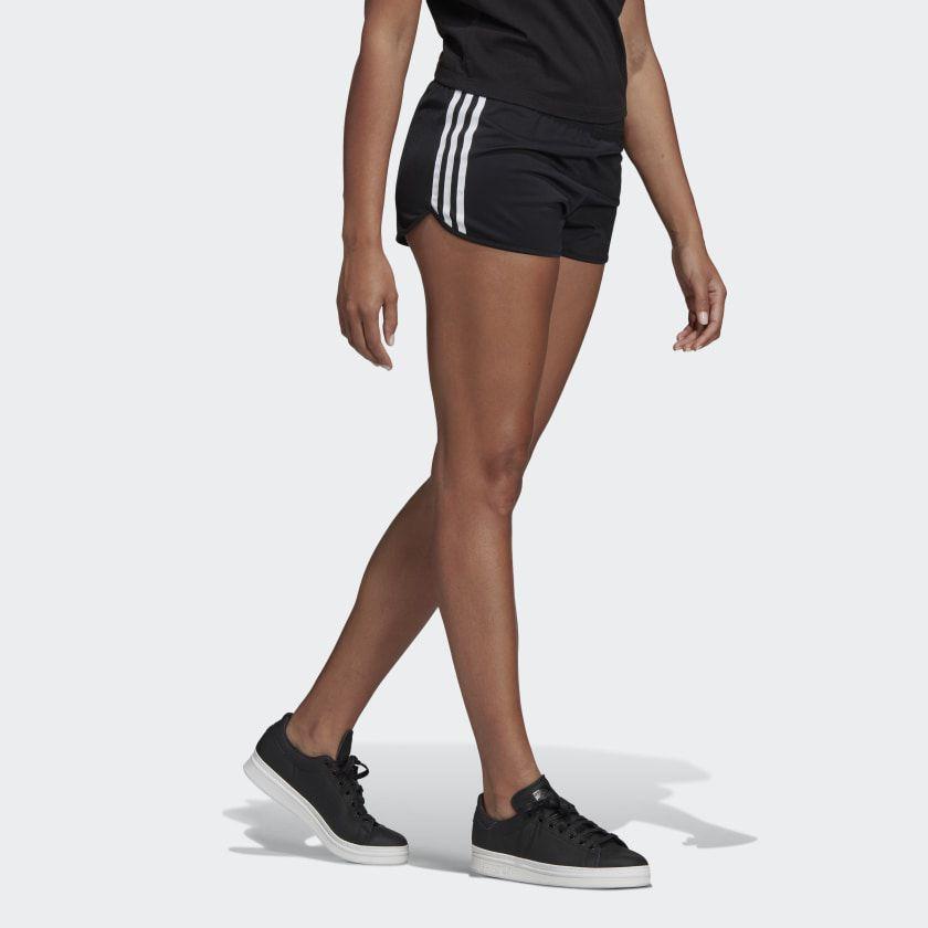 Shorts adidas black 3 stripes
