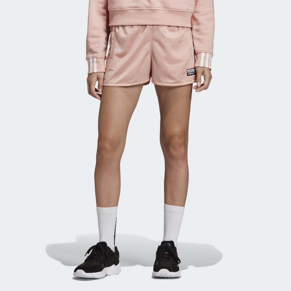 Shorts tape rosa adidas