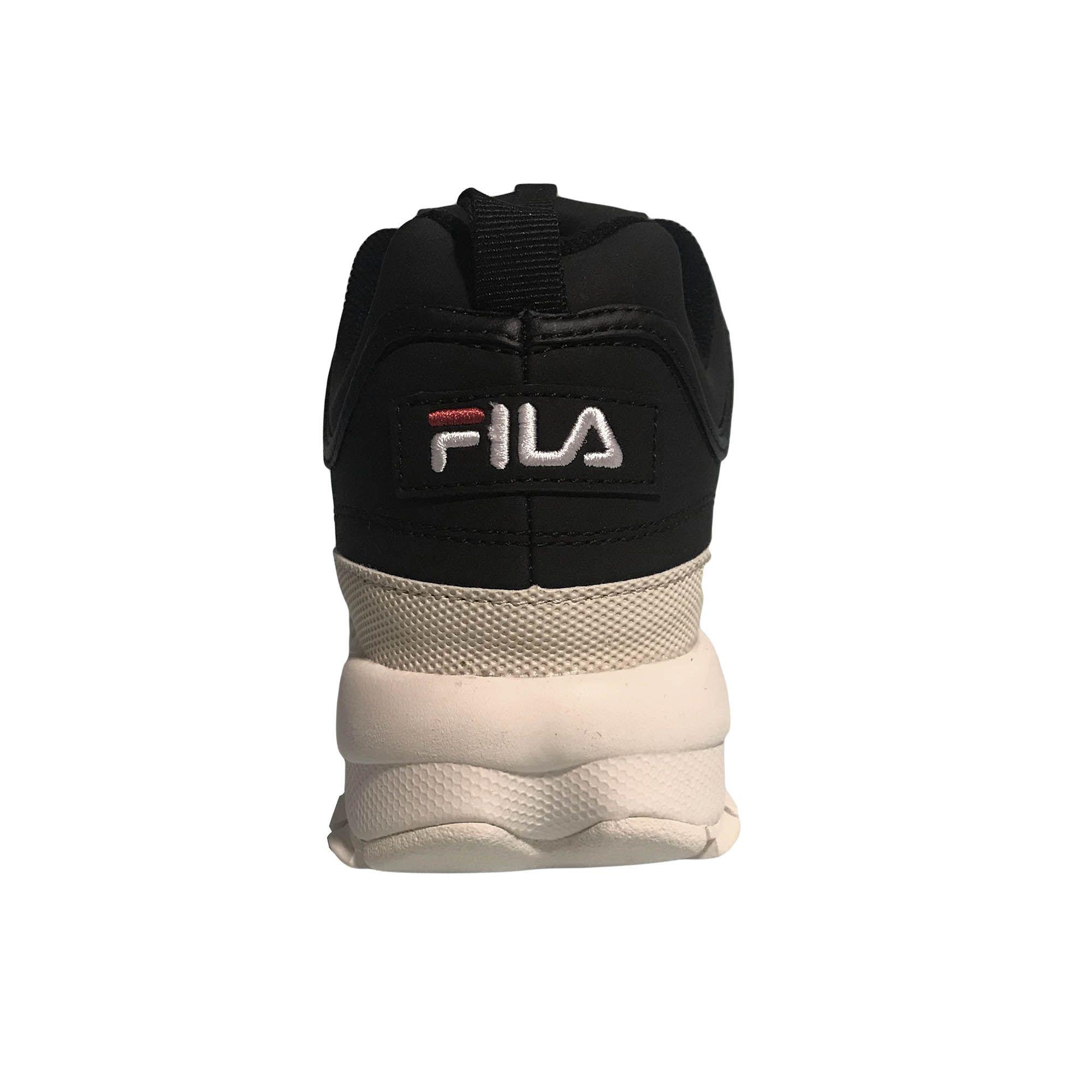 Tênis Fila Disruptor Black/Off White