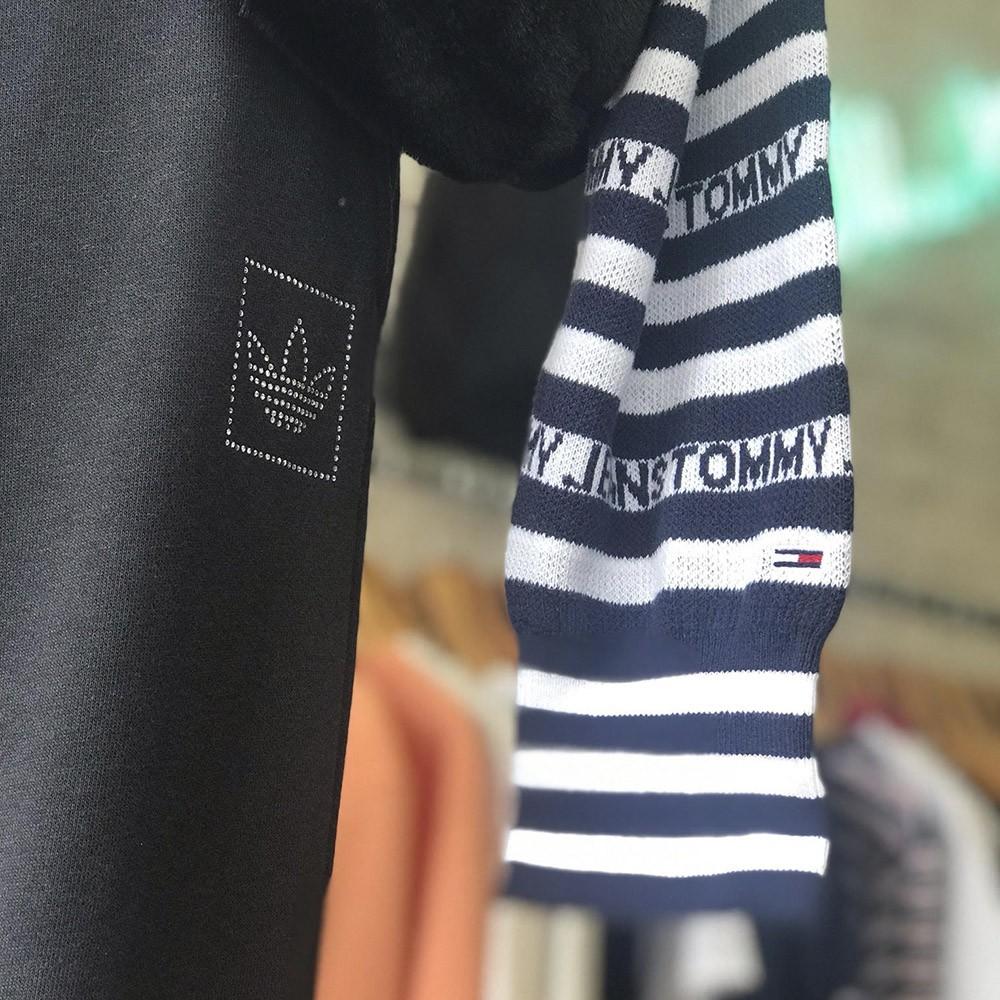 Tricot Tommy Jeans Stripe Hoodie SW