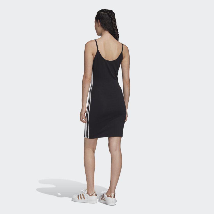 Vestido adidas Spaghetti Strap Black