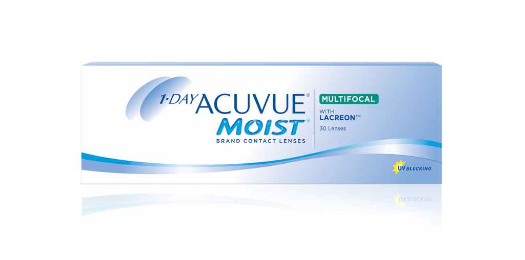 1-DAY ACUVUE MOIST MULTIFOCAL com LACREON