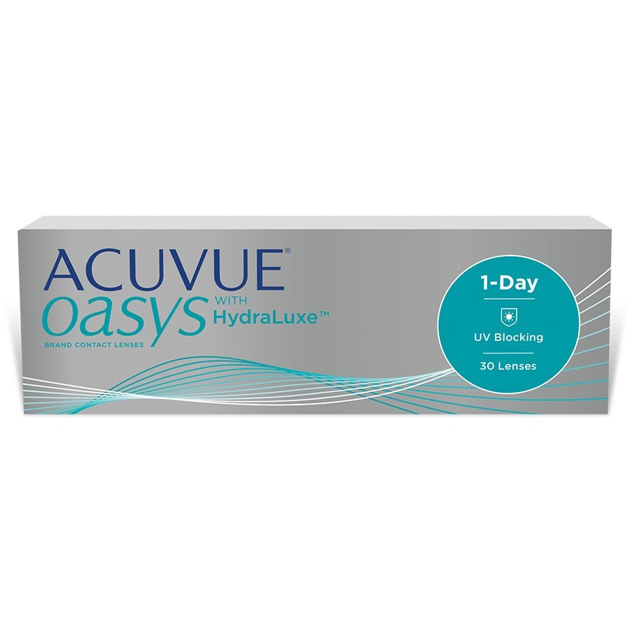 ACUVUE OASYS 1-Day com HydraLuxe