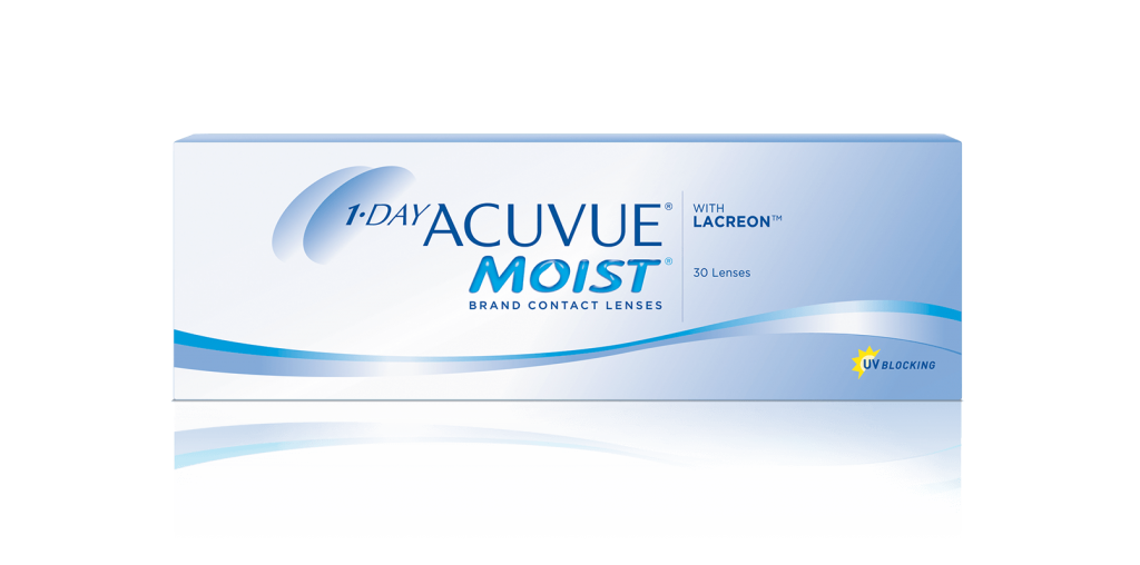 1-DAY ACUVUE MOIST com LACREON