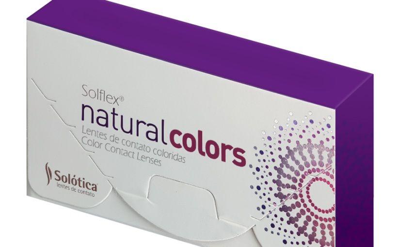 SOLFLEX NATURAL COLORS- PAR DE LENTES DE CONTATO