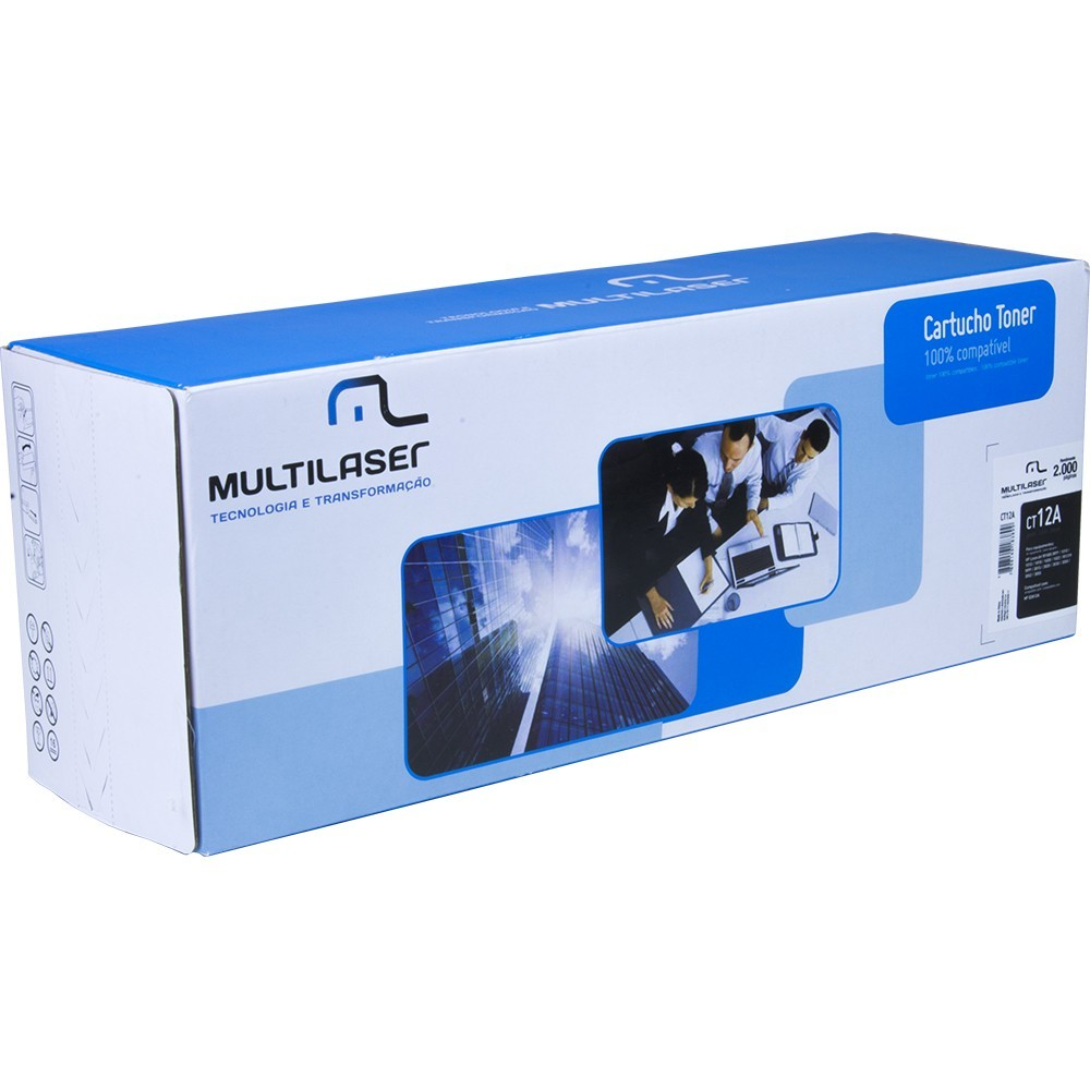 Cartucho Toner HP 78A P1566 Multilaser CT78a