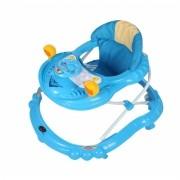 Andador Infantil para Bebê Carrinho Azul Dardara