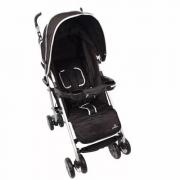 Carrinho de Bebê para Passeio Umbrella Pass Preto Dardara